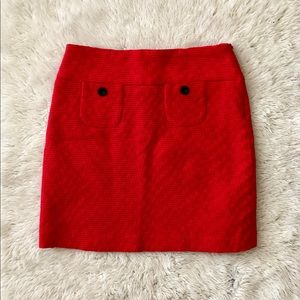 NWT Red Mossimo Pencil Skirt Size 4